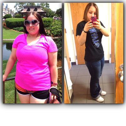 In one year Rochelle changed her appearance, her confidence and her life!