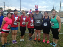 A 5k is not just for those running to win.  We had a blast in this race last July!